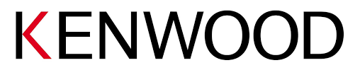 logo marque Kenwood avec le k rouge et le fond blanc