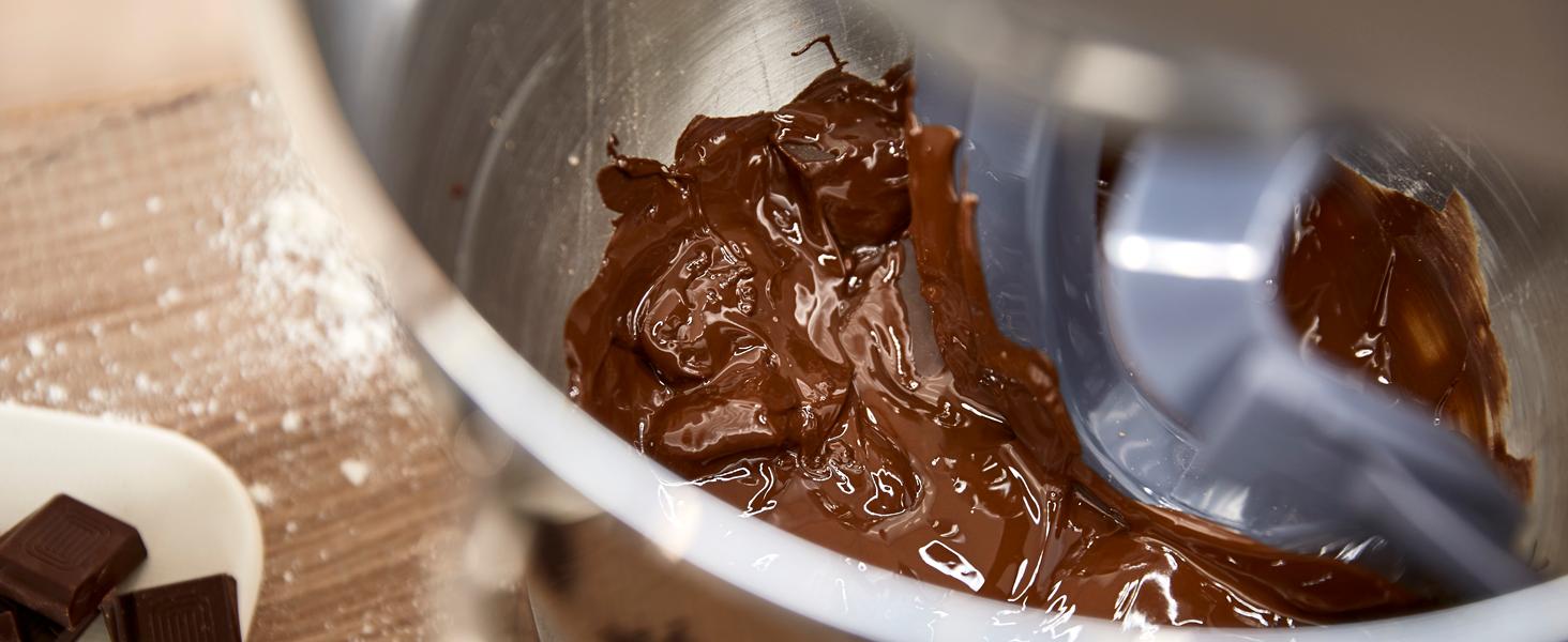 Fondre du chocolat au robot patissier