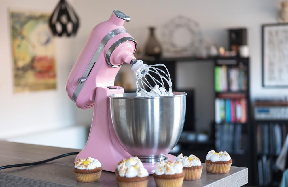 kitchenaid mini artisan robot patissier rose test et avis