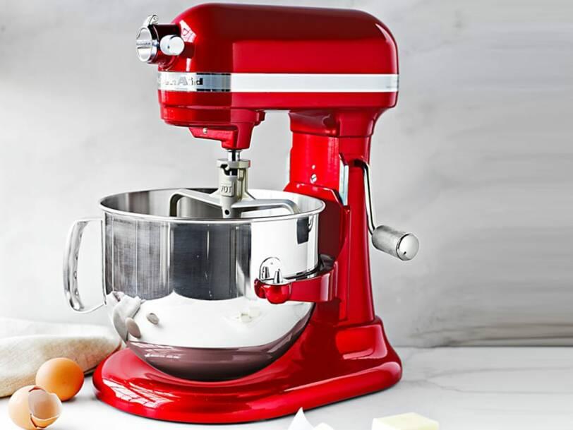 Kitchenaid professionnel rouge pomme d'amour